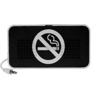No Smoking Pictogram Doodle Speaker