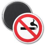 No Smoking Refrigerator Magnets