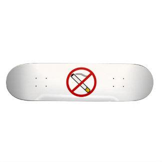 No Smoking Sign Custom Skate Board
