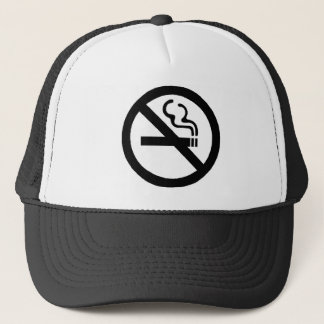 No Smoking Sign Hat