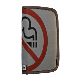 No Smoking Sign inside train Folio Planner