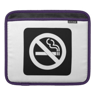 No Smoking Sign Sleeves For iPads