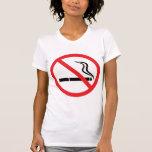 No smoking sign or symbol/anti smoking t-shirt