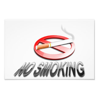 No smoking sign photograph