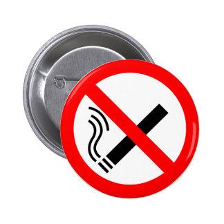 NO Smoking Sign - UK Signage Pin