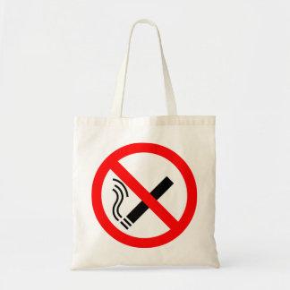 NO Smoking Sign - UK Signage Canvas Bag