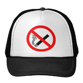 NO Smoking Sign - UK Signage Mesh Hat