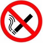 NO Smoking Sign - UK Signage Photo Cut Out