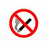 NO Smoking Sign - UK Signage Postcards