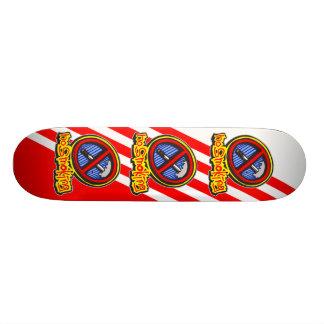No Smoking Skate Board Decks