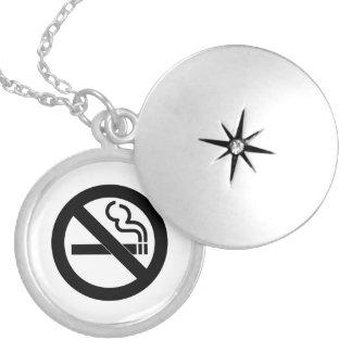 No Smoking Symbol Lockets