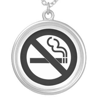 No Smoking Symbol Necklaces