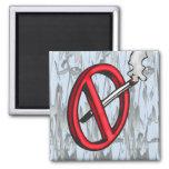 No Smoking Symbol Refrigerator Magnet
