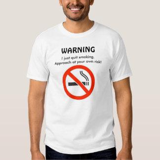 No Smoking Tee-Shirt Dresses