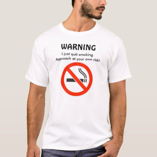 No Smoking Tee-Shirt T-Shirt