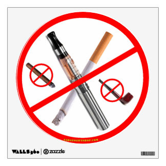 NO SMOKING WALL DECAL