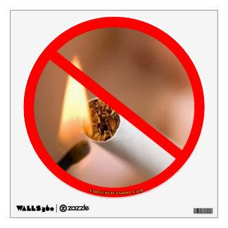 NO SMOKING WALL STICKER