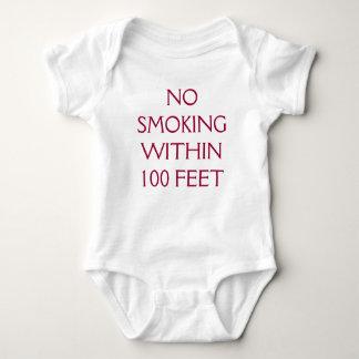 NO SMOKING WITHIN 100 FEET TEE SHIRT