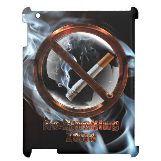 No Smoking Zone iPad Cases