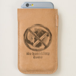No Smoking Zone iPhone 6/6S Case