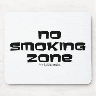 NO SMOKING ZONE MOUSE PAD