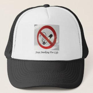 No Smoking Zone Thanks Trucker Hat