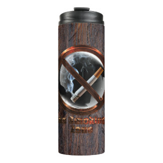 No Smoking Zone Thermal Tumbler