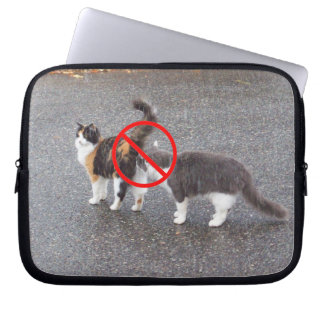No Sniffing zone Laptop Sleeve
