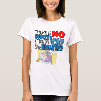No Snooze Cat Bed T-Shirt