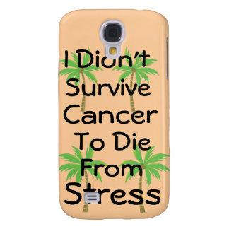 No sobreviví al cáncer para morir de las palmas de funda para galaxy s4