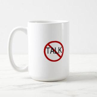 No sociable hasta la taza de café pasada del desce