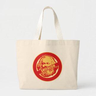No Socialism Jumbo Tote Bag
