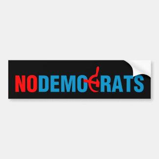 No Socialist Democrats (v101) Car Bumper Sticker