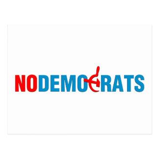 No Socialist Democrats (v101) Postcard