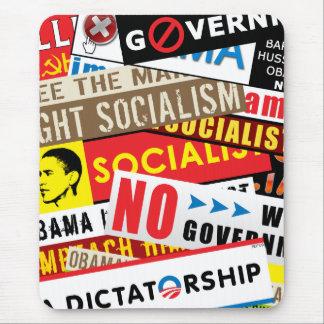 No Socialist Propaganda Mouse Pad