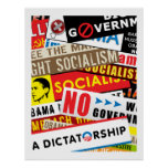 No Socialist Propaganda Posters