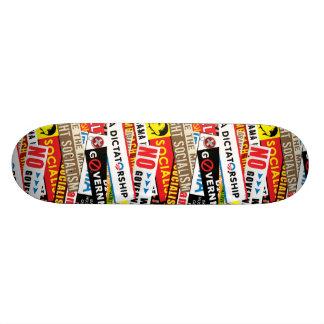 No Socialist Propaganda Skateboard Deck