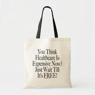 No Socialized Medicine Tote Bag