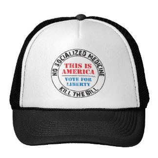 No Socialized Medicine Trucker Hat