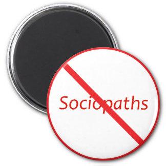 No Sociopaths Magnets