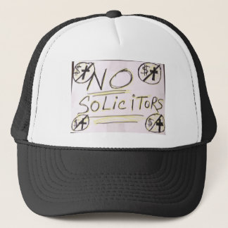 No Solicitors Trucker Hat