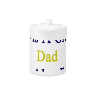No sólo él es un gran papá que él es también de