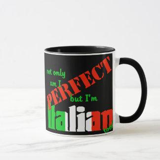 ¡No sólo estoy perfecciono pero soy italiano