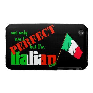 No sólo estoy perfecciono pero soy italiano iPhone 3 carcasa