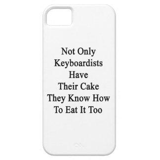No sólo los teclistas tienen su torta que saben Ho iPhone 5 Case-Mate Protectores