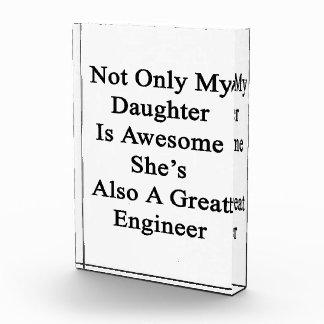 No sólo mi hija es impresionante ella es también
