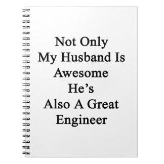 No sólo mi marido es impresionante él es también libro de apuntes
