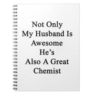No sólo mi marido es impresionante él es también libros de apuntes