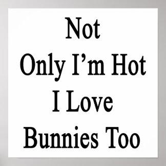 No sólo soy conejitos calientes del amor de I tamb Posters