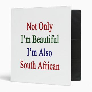 """No sólo soy hermoso yo soy también surafricano carpeta 1"""""""